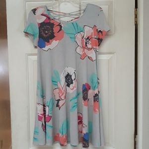 Adrienne poppy day dress